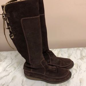 Timberland genuine leather waterproof tall boots